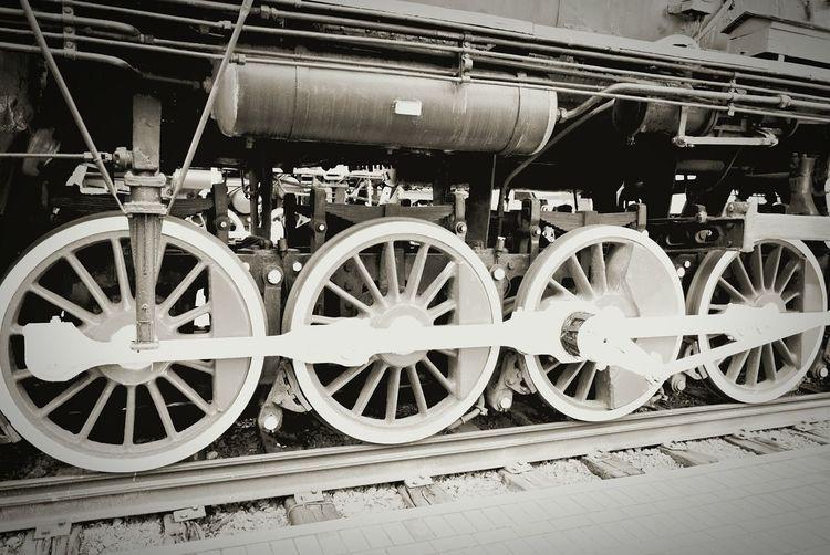Taking Photos Trainphotography Photography Brest Belarus Wheels Steam Engine Steam Locomotive Train Museum Retro Train