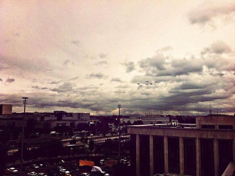 el cielo se viste de gala !
