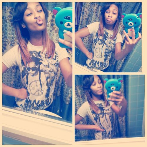 Back From Basketball Practice : )