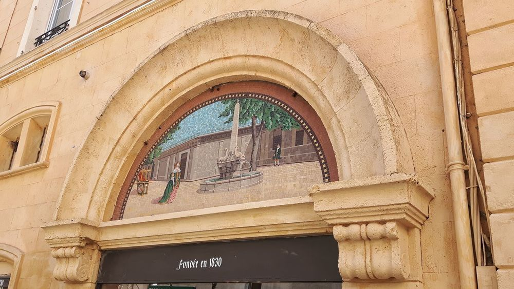 Architecture Built Structure Low Angle View Day No People Building Exterior Close-up Arch France Provence Mosaic Mosaic Art Mosaico Mosaics Mosaic Tiles Aix-en-Provence Aixenprovence Aix En Provence