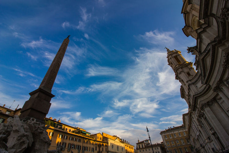 Piazza Navona Rome Travel Travel Photography Ancient Civilization Architecture Building Exterior Built Structure City Cloud - Sky Day Evening Sky History Italy Lifestyles Low Angle View Monument No People Outdoors Roman Empire Sculpture Sky Statue Sunset Travel Destinations Breathing Space EyeEmNewHere