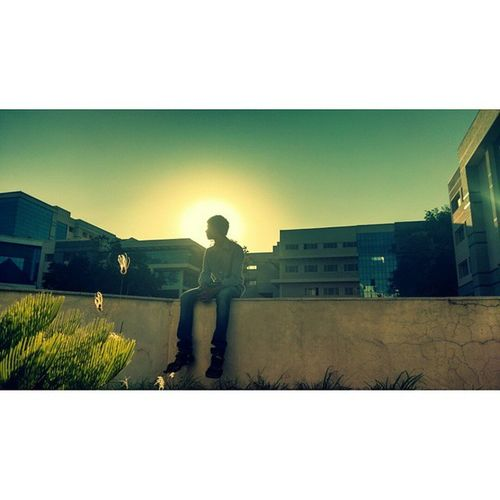 Ajithsphotography Roommate  Sunset Photographycontest MSRIT Iclick Halfcampus Motofoto Motog2