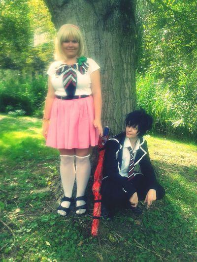 Mein Shiemi Cosplay aus Ao No Exorcist und natürlich hatte ich auch einen Rin dabei