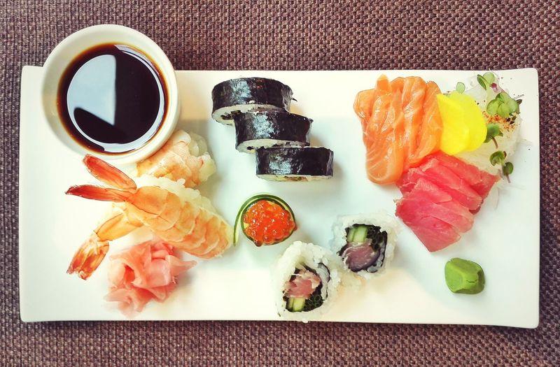 Healthy Food Food Asianfood Salmon Sashimi Sasimi Sushi Japanese Food Shrimps Delicious Lunch