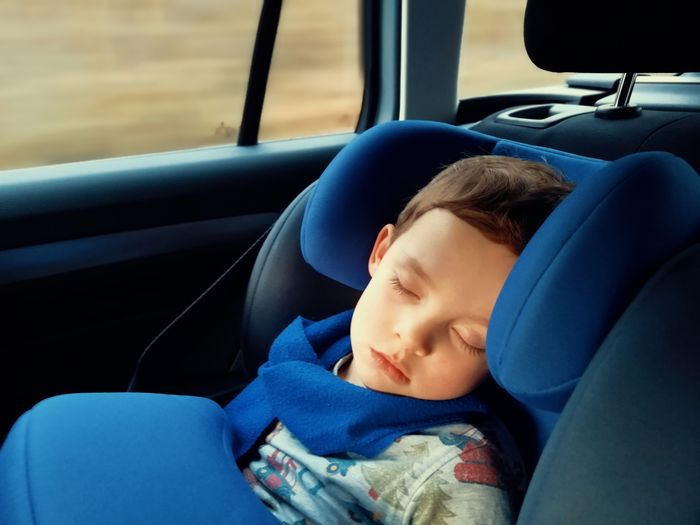Little Boy sleeping in the Car Peacefull Toddler  Young Childhood Safety Transportation Blue Driving Germany Child Childhood Vehicle Seat City Car Interior Car Boys Headshot Land Vehicle Eyes Closed  Back Seat Sleeping Vehicle Interior Resting