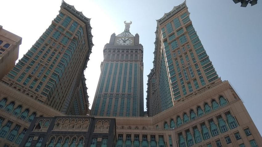 Clock Tower, Makkah, Saudi Arabia Architecture Modern Business Finance And Industry Travel Destinations Low Angle View Building Exterior Built Structure Skyscraper City Day Outdoors