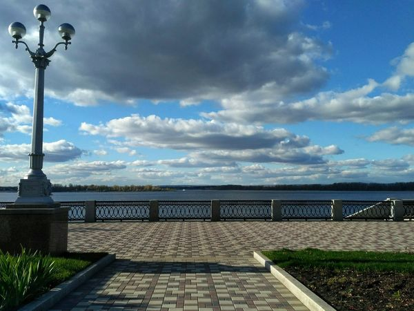 Sky Cloud - Sky No People Horizon Over Water Water Beauty In Nature Day Architecture Samara Самара небо облака Красоты природы архитектура EyeEm The City Light The Street Photographer - 2017 EyeEm Awards