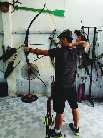 Archery Archer Adult One Man Only One Person Day Archery Bows Archery Competition