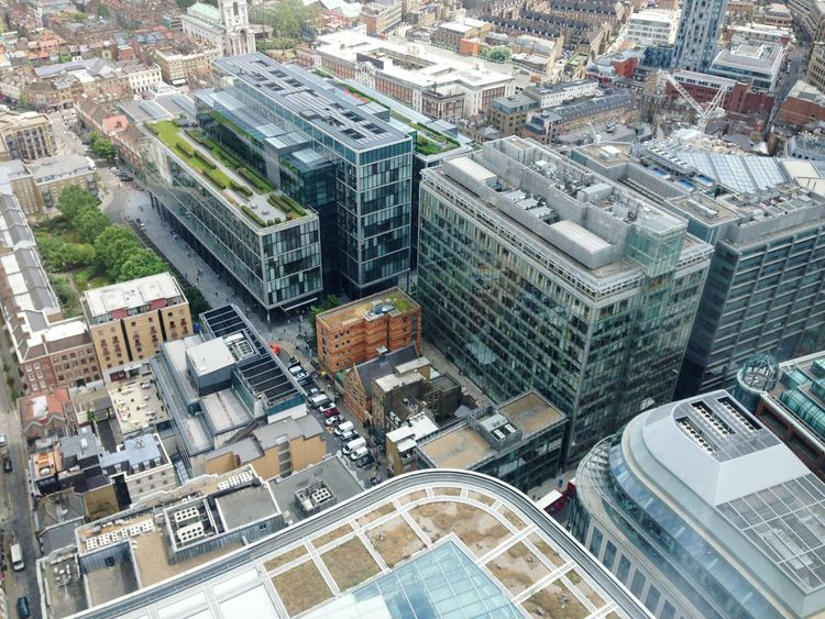 Unseen London Looking Down London London City Cityscape Cityscapes Rooftops Roof Garden Uk Pmg_lon