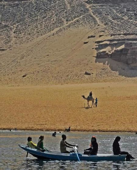 Summer in Aswan Sunshine Sandcastles Swimming Getting A Tan Enjoying The Sun Traveling Freedom Tour Beach Aswan Egypt