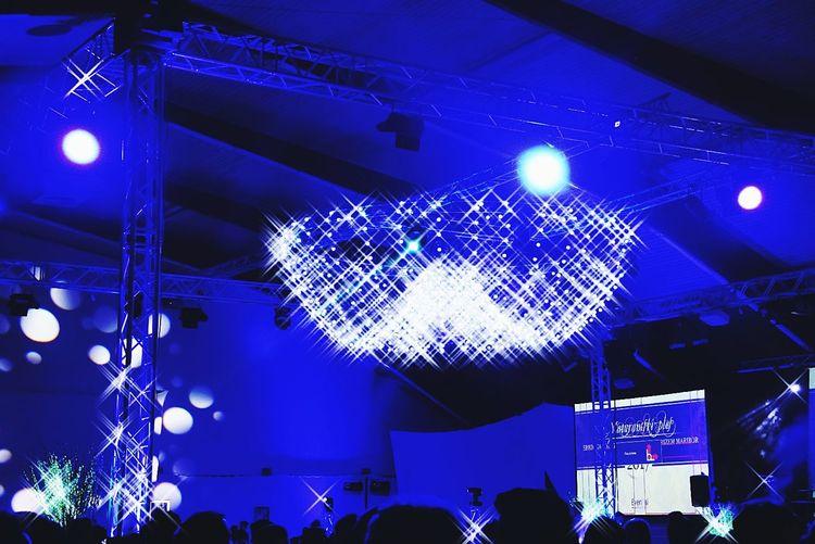 Illuminated Night Lighting Equipment Nightclub Nightlife Music Celebration Event Stage Light Shiny Disco Lights Prom Night Prom2017 Blue Color Fun Eyeemphoto EyeEm Zanxy98 Neon Life