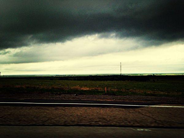 Stand For Land Nebraska Trip Driving