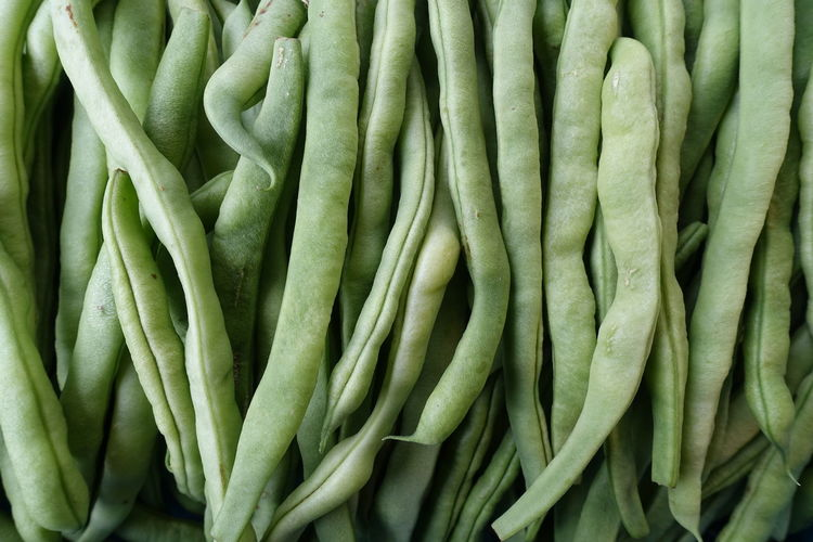 beans Food Vegetables Beans Green Market Foodphotography Backgrounds Full Frame Close-up Green Color For Sale