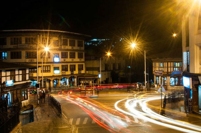 Thimphu,the only capital with no traffic lights . Thimphutown Thimphu Trafficpolice