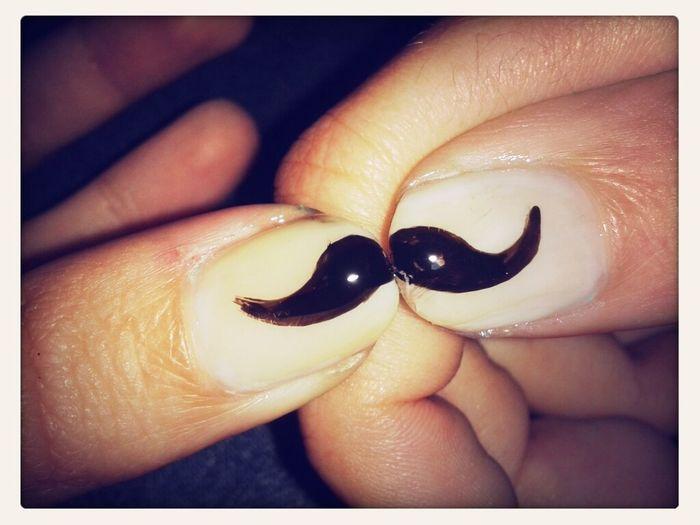 Nails Moustache