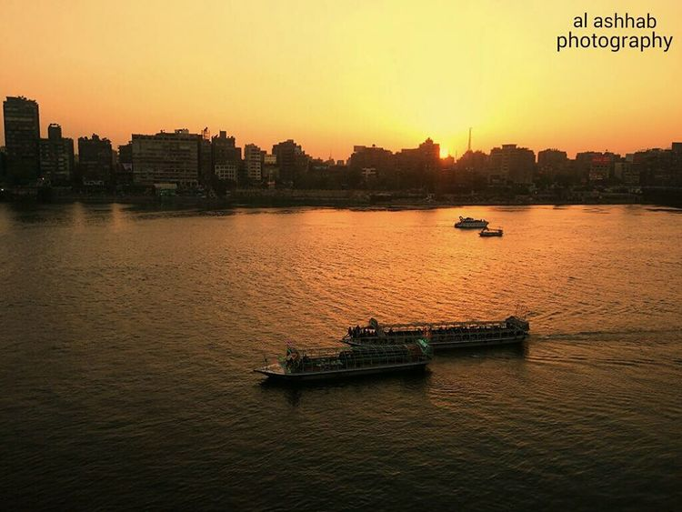 Water Nile_view Nilo OpenEdit Sunset Egypt