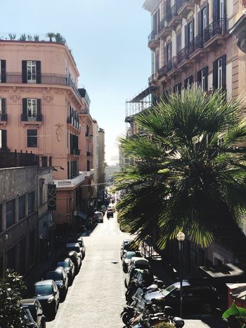 Strade Citta Napoli Architecture Building Exterior Built Structure Street City Day Walkway Town No People