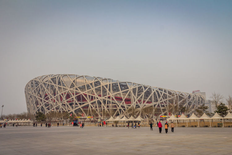 The Birds nest in Beijing Beijing Beijing, China BEIJING北京CHINA中国BEAUTY Beijing China Olympics Beijing Olympic Park Beijing Olympics Olympic Stadium Birds Nest Sky Built Structure Architecture Nature Amusement Park Ride Clear Sky Amusement Park Arts Culture And Entertainment Real People Group Of People Day Copy Space Ferris Wheel Building Exterior Leisure Activity Outdoors Travel Destinations Sport Large Group Of People Incidental People