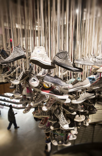 Business Converse Shopping Art Chandelier Retail  Retail Display Shoes Shop Store