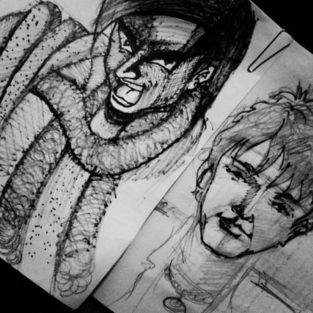 sketch drawing Drawing ✏ Animeboy Animesketch