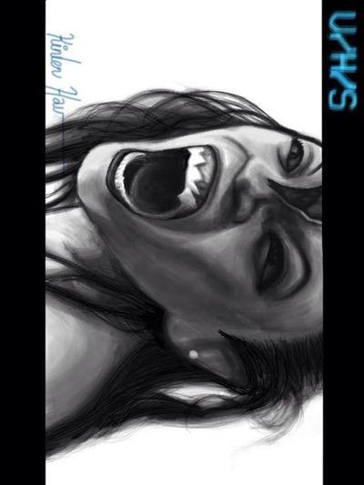 Súcubo de la película VHS ... iPad app: Art Drawing Digital Art Digital Painting