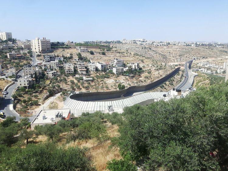 Israel Palestine Palestinian Territory Palestinian Wall Separation
