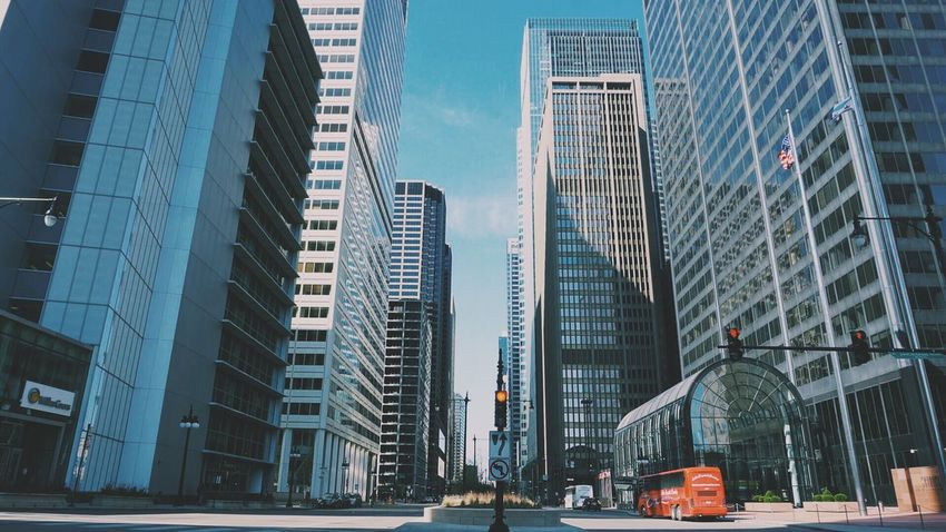 Downtown Chicago Building Chicago Travel Spring Sony A6000 2016 Travels