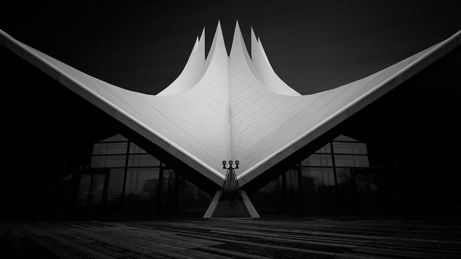 Tempodrom   Berlin (2017) Architecture Built Structure No People Indoors  Day City EyeEm Best Shots - Black + White Outdoors EyeEm Best Shots Longexpoelite Tranquility Germany Tranquil Scene Scenics Longexposurephotography EyeEm Best Edits EyeEm Long Exposure Fine Art Photography Blackandwhite Black And White Fine Art Fineart_photobw Welcome To Black Welcome To Black The Architect - 2017 EyeEm Awards The Architect - 2017 EyeEm Awards The Week On EyeEm Discover Berlin Black And White Friday The Graphic City The Architect - 2018 EyeEm Awards My Best Photo 17.62°