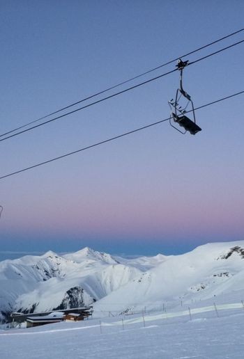 Snow Winter Cold Temperature Day Scenics Outdoors Mountain Sky Beauty In Nature Ski Lift Nature