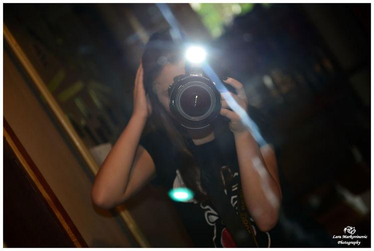 Me Taking Photos With Nikon D800