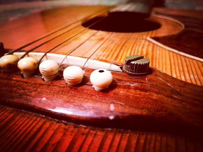Close-up Maximun Closeness Guitar Musical Instrument Old Faithful