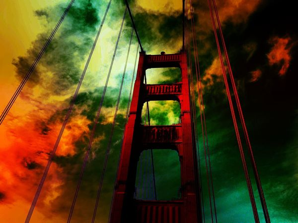 GoldenGateBridge Surrealism Enlight San Francisco IPhoneography Outdoors Travel California Perspectives Check This Out