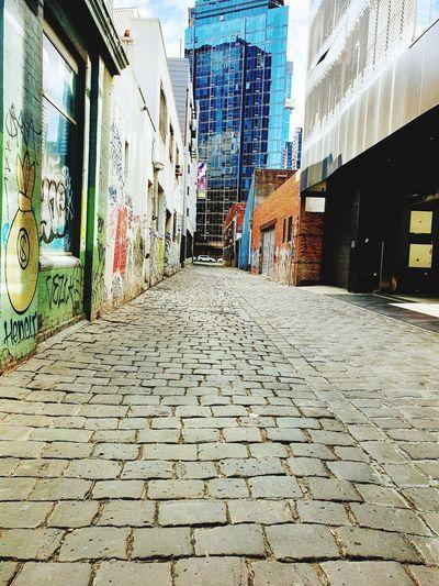 urban laneway