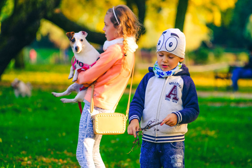 Blue Eyes FUJIFILM X-T10 Adult Animal Themes Casual Clothing Childhood Day Dog Domestic Animals Focus On Foreground Friendship Fuji Fujifilm Girls Grass Halloween Mammal Nature One Animal One Person Outdoors People Pets Portrait Real People Wasiak