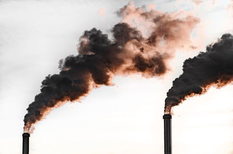 Too late Pollution Smoke - Physical Structure Smoke Stack Air Pollution Factory Industry Emitting Fumes Environmental Damage Environment Chimney Environmental Issues Sky Low Angle View No People Poisonous Built Structure Outdoors Ecosystem  Day Capture Tomorrow