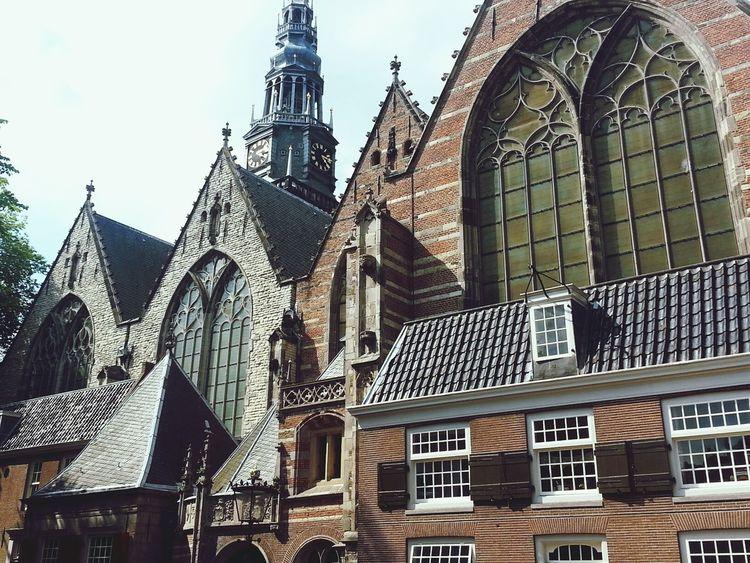 Amsterdam Church Tourist Oude Kerk