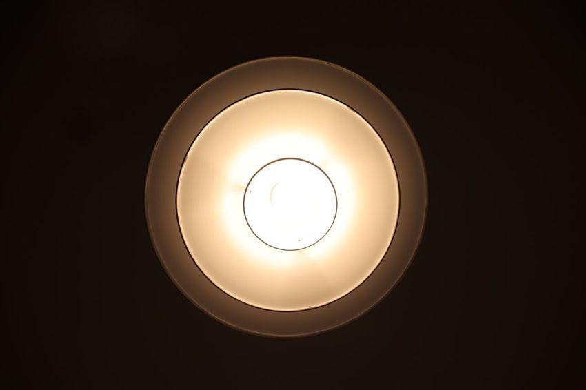 Pendant light Geometric Shape Circle Lighting Equipment Light Illuminated Shape Electricity  Electric Light Glowing Pendant Light Light Bulb Technology Directly Below