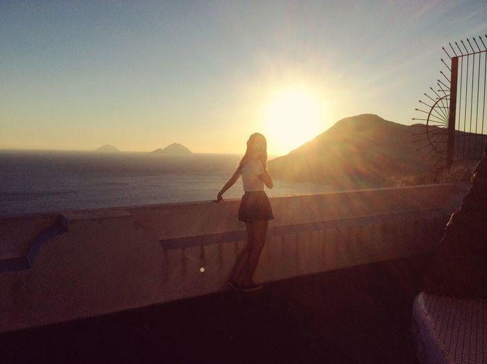 Lipari Italy Sunset First Eyeem Photo
