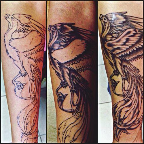 Girls With Tattoos tattoo Phoenix Raymond, Nh