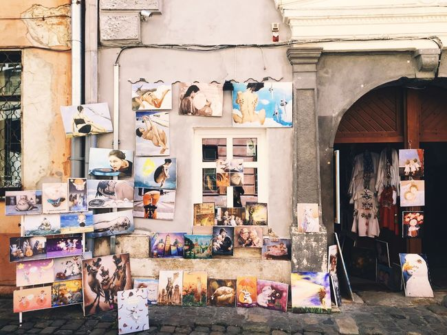 Ukraine Lviv Streetphotography Color Street Summertime Paint Picture For Sale Holiday No People Storyformylife