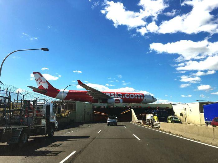a quick best shot 📸 by Suntaree @Sydney, Australia Aircraft Air Asia Airplane Sydney Australia AirAsiaThailand AirAsiaMalaysia Airasiaindonesia Airasia