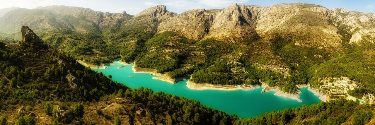Blue Lake Guadalest Landscape_Collection Nature Nature Photography Panorama Rock Formation SPAIN Blue Countryside Geological Formation Geology Idyllic Lake Lakeshore Lakeside Landscape Mountain Mountain Range Nature_collection Naturelovers Non Urban Scene Pine Tree Pine Woodland Standing Water