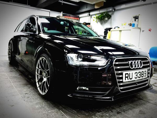 Rainny day car wash Auto Beauty Audi Avant Unicon Pro Shop