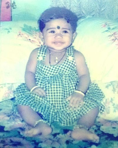 Oldpicture That's Me Childhood Cuteeee♥♡♥ Memories ❤ Photo Of Photo Mobile Photography