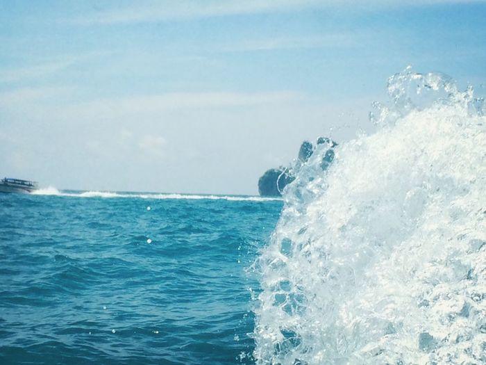 Membelah lautan ?