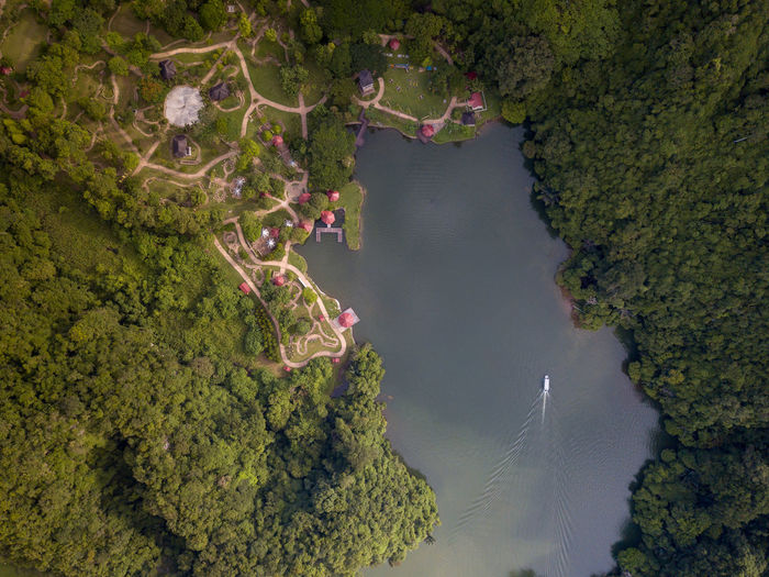 Lake and Rainforest Outdoors Aerial View Aerial Aerial Shot Aerial Landscape Bird's Eye View High Angle View Pattern EyeEm Selects EyeEm Best Shots Nature Day Rainforest Lake Tourist Attraction  Water Beauty In Nature Tree No People Growth Land Green Color Scenics - Nature Non-urban Scene Environment