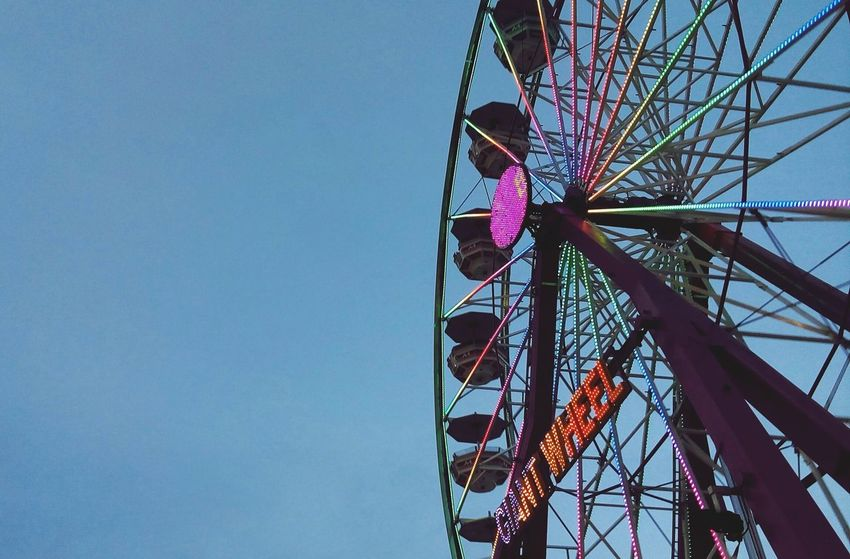 Ya llegó la feria Fun Taking Photos Wheel Of Fortune