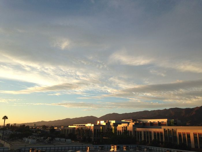 Blue Sky Clouds And Sky Sunset Nature Glendale California Lovely