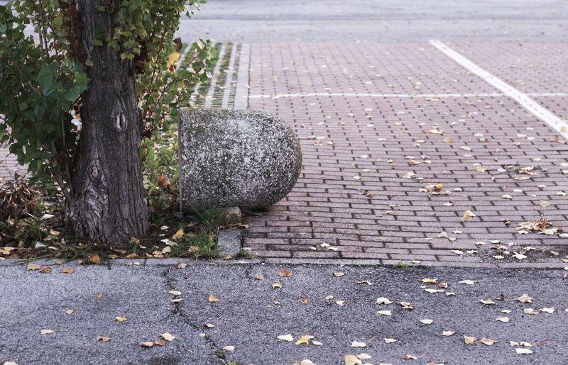 Upset concrete