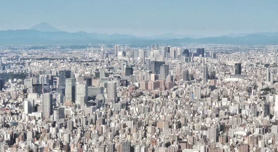 My Year My View 東京スカイツリー 東京スカイツリーからの富士山! Tokyo Sky Tree Observatory Mt.Fuji Tokyo Cityscapes Tokyo Landscape Skyline Sky And Mountains Buildings Buildings And Sky Tokyo Wonderful View From My Point Of View August 2016 EyeEm Best Shots